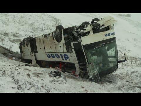 Причину ДТП с двумя пассажирскими автобусами назвали сотрудники ГИБДД Тамбовской области