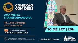 CONEXÃO COM DEUS AO VIVO - Igreja Presbiteriana Unida de São Paulo - 20/09/2021