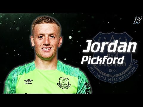 Jordan Pickford 2017/18 Amazing Saves - FC everton & England