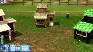 The Sims 3 Store Review: Fowl and Feathers Chicken Coop