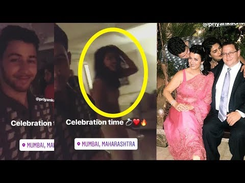 Exclusive : Priyanka Chopra and Nick Jonas dancing together in their engagement party 😍
