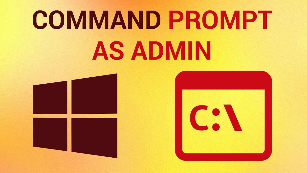 how to run command prompt as admin in cmd