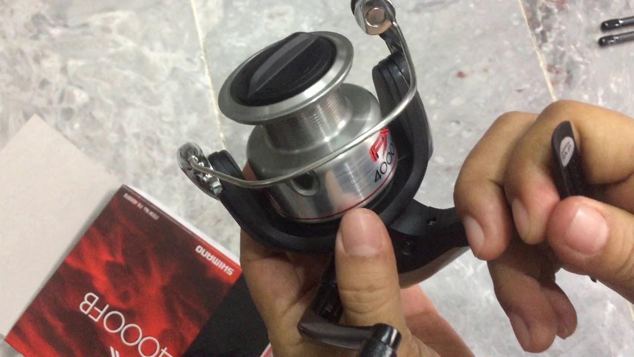 May Cau Shimano Fx4000 280k Rẻ Nhất Thị Trường đồ Cau Tuấn Hang Xanh Youtube