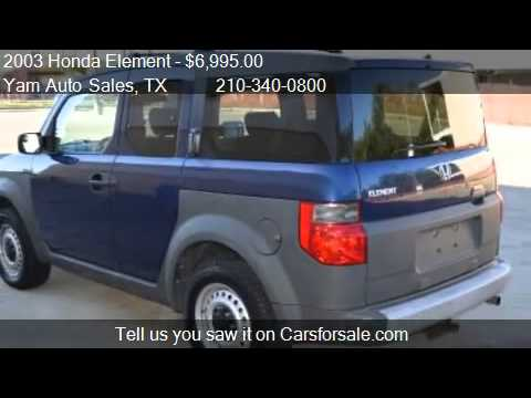 2003 Honda Element Dx 2wd At For Sale In San Antonio Tx 7 Youtube