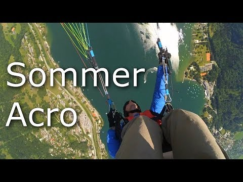 Learning Acro Paragliding