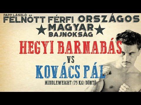 Papp László Ökölvívó Magyar Bajnokság- Döntő 75kg - Hegyi Barnabás VS. Kovács Pál