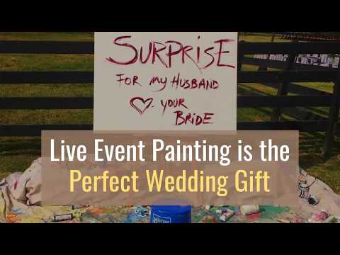 The Best Wedding Entertainment That Includes A Surprise Wedding Gift