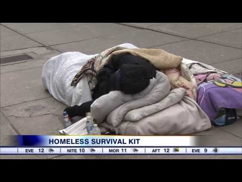 Video: The homeless survival kit