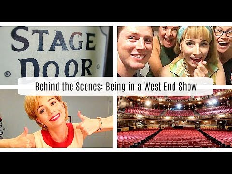 Behind the Scenes | Day In The Life: Being in a West End Show! | Vlog