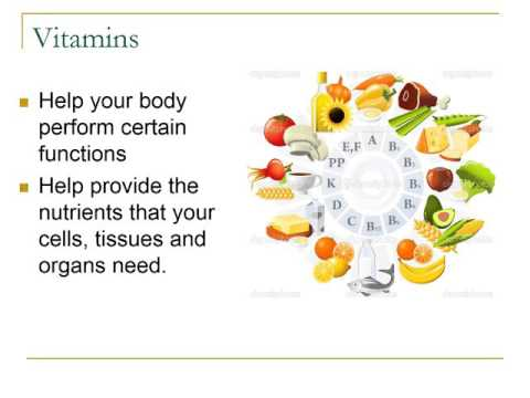 Nutrition PPT Video