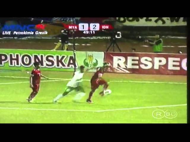 Full match AFF U19 2013  Indonesia vs Myanmar  (2-1)   12 Sept 2013 Travel Video