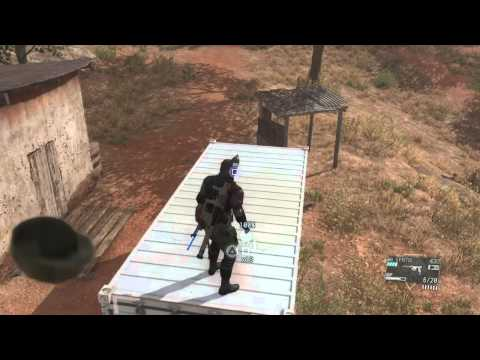 Fulton Extract on Container - Metal Gear Solid V: The Phantom Pain [PlayStation 4]
