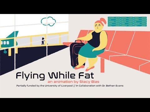 Flying While Fat - Documentary Animation