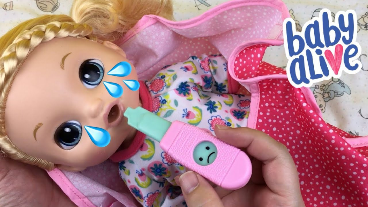 We Have A Sick Baby Alive Doll Youtube