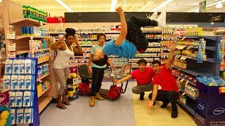 BACKFLIPS IN PUBLIC! (CRAZY REACTIONS)