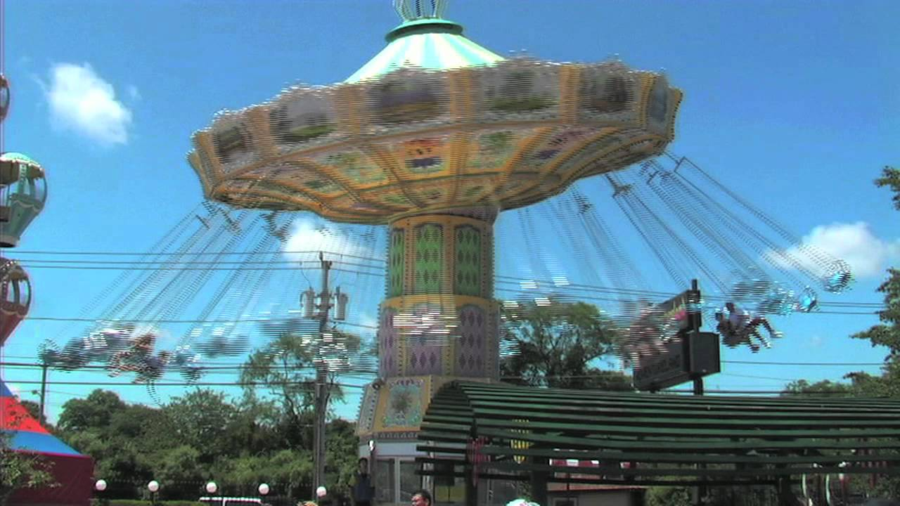 Wave Swings At Adventureland Amusement Park Long Island