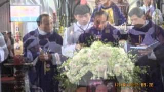 T. Lễ An táng và Di quan Cố LM Giacobe Nguyễn Tấn Đường