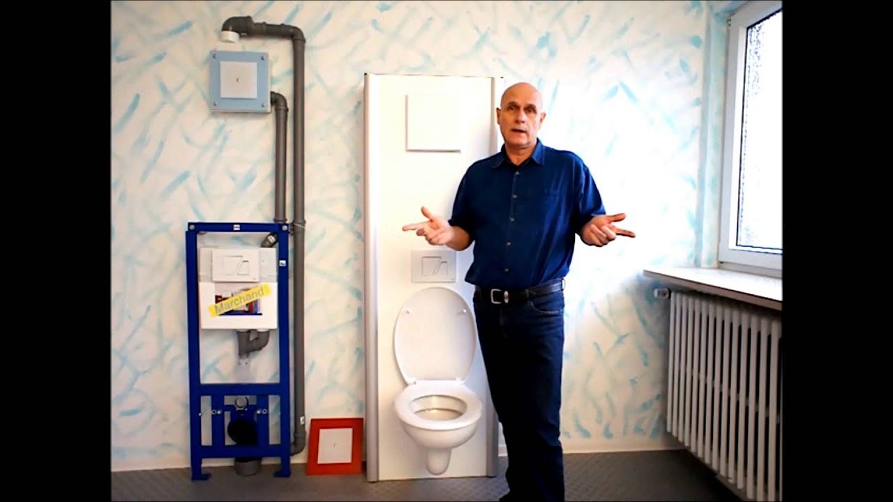 geruchsfreie toilette mit ventilator youtube. Black Bedroom Furniture Sets. Home Design Ideas