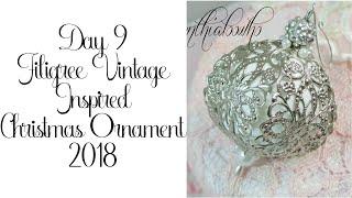 Day 9 Cynthialoowho Christmas Ornaments 2018