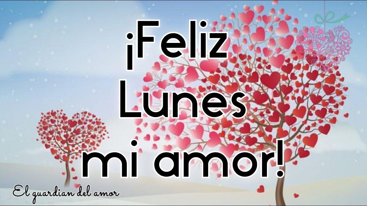 Bonito Lunes Mi Amor feliz lunes mi amor te amo