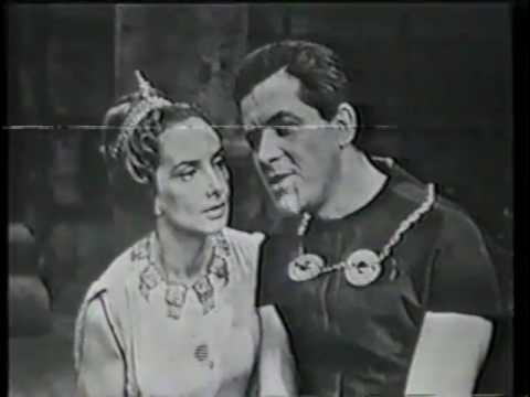 """Fragment """"Ifigenii w Taurydzie"""" (TVP 1965)"""