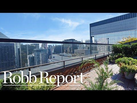 Tour a Penthouse That Overlooks the Museum of Modern Art's Sculpture Garden