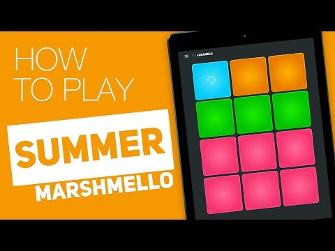 How to play: SUMMER Marshmello  SUPER PADS  Caramelo Kit