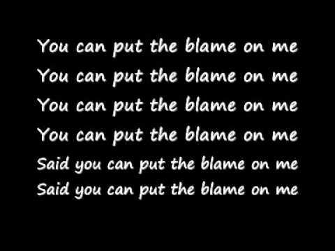 Akon - Sorry blame it on me lyrics