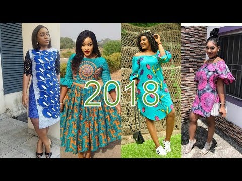 AFRICAN ATTIRE STYLES 2018 : BEAUTIFUL ANKARA GOWN STYLES FOR YOU