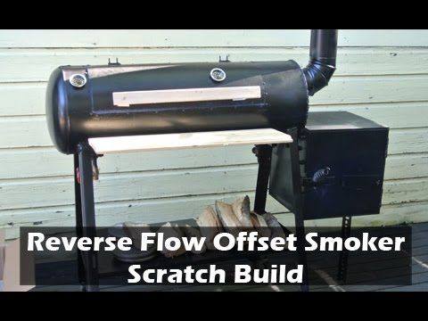 Reverse Flow Offset Smoker Build