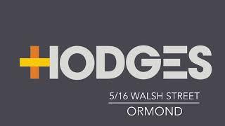5/16 Walsh Street, Ormond