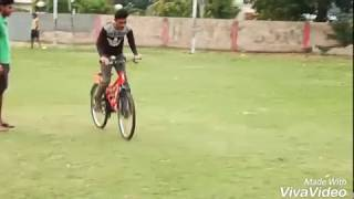 Cycle stunt 360°- science of stupid 😂😂