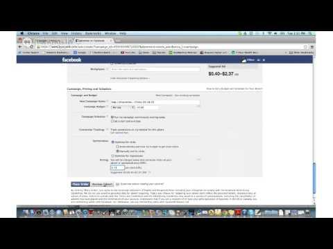 Using Internet Marketing Pt. 4: Facebook PPC Ads