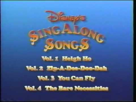 Closing to Disney's Sing-Along Songs: I Love to Laugh 1990 VHS