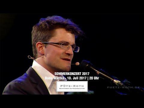 Pütz-Roth Sommerkonzert 2017 | Bodo Wartke live