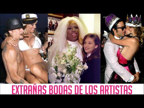 EXTRAÑAS BODAS DE LOS ARTISTAS