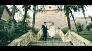 свадьба в Черногории Ирина+Сергей 29.12.2014