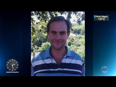Homem morto a facadas durante briga na frente do filho é enterrado | SBT Notícias (16/05/18)