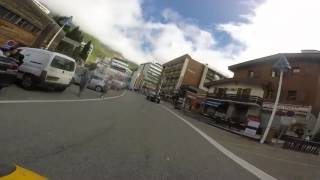 GREAT MOTORBIKE ROADS Pyrénées Atlantiques France D918 Col d'Aubisque