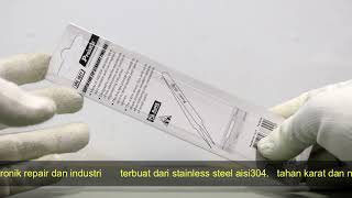 REVIEW PINSET PRO'SKIT 1PK-102T 140MM LURUS ORIGINAL - 76427