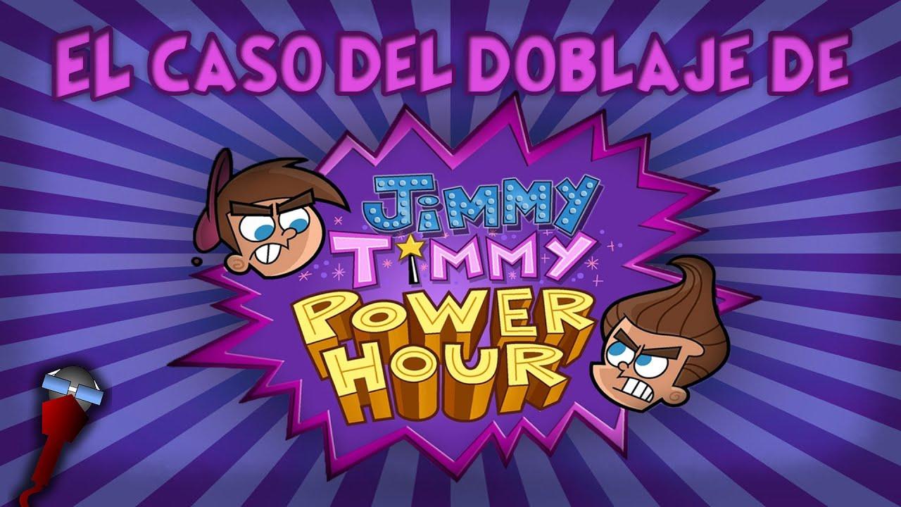 El Caso Del Doblaje De La Hora Poderosa De Jimmy Y Timmy