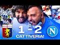 CATTIVERIA!!! GENOA 1-2 NAPOLI | LIVE REACTION NAPOLETANI AL MARASSI HD