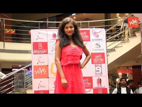 Mr And Miss Telangana Fashion Show at City Center in Hyderabad | YOYO TV Channel