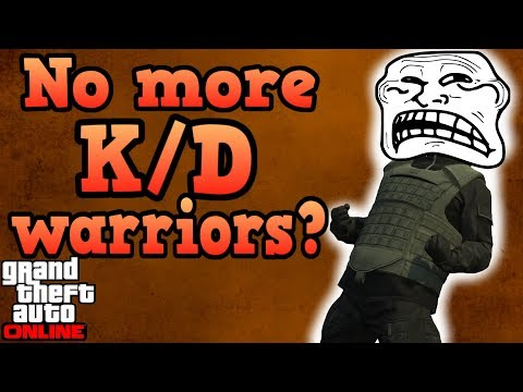 GTA Online update stops tryhard K/D...
