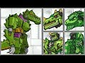 Dino Robot Crocodile | Ceratosaurus | Giganotosaurus - Full Game Play - 1080 HD
