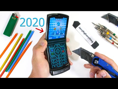 2020 Moto RAZR Durability Test! - Will the Folding Icon Survive!?
