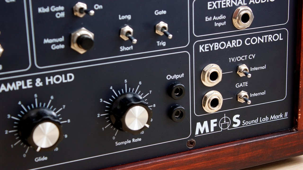 Download MFOS SoundLab Mini Synth MKII - Demo Improv