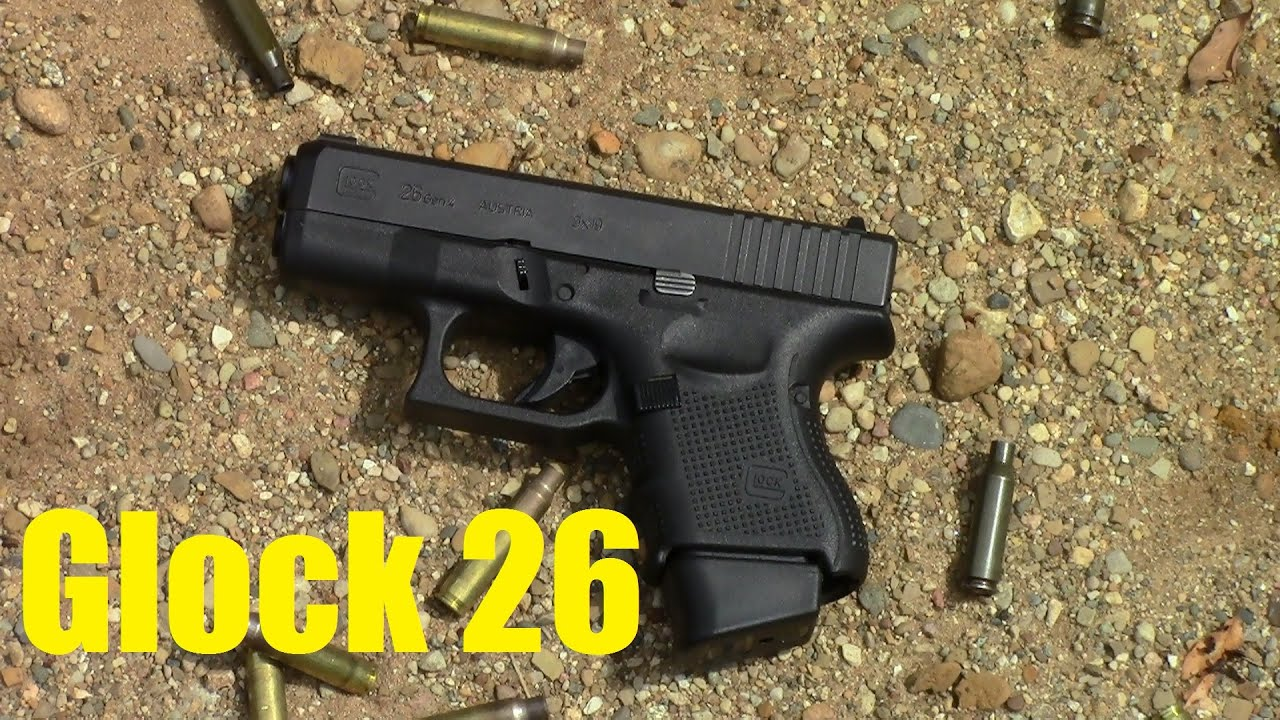 glock 26 gen 4 range report 2 by thegeartester youtube. Black Bedroom Furniture Sets. Home Design Ideas