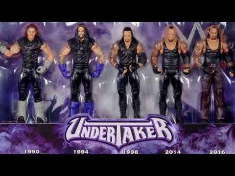 New MOC Undertaker Wwe Spotlight figure box set Mattel Toys r us exclusive images