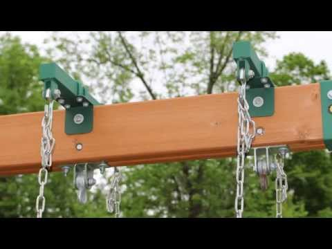 How To Install Brackets For Horse Glider Swing